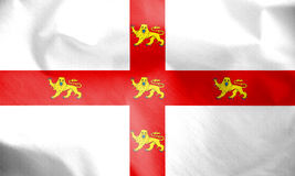 Flag of York, North Yorkshire. England. 3d Rendered Flag of York, North Yorkshire. England Stock Photos