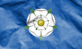 Flag of Yorkshire, England. 3d Rendered Flag of Yorkshire, England Stock Photo