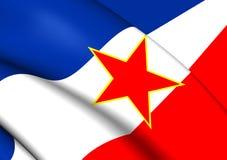 Flag of Yugoslavia Royalty Free Stock Image