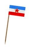 Flag of Yugoslavia Stock Photos