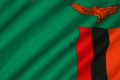 Flag of Zambia - Africa Stock Images