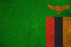 Flag Zambia Royalty Free Stock Image