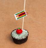 Flag of a zimbabwe Royalty Free Stock Images