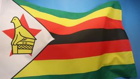 Flag of Zimbabwe Royalty Free Stock Image