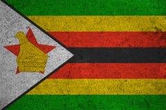 Flag Zimbabwe Royalty Free Stock Photos