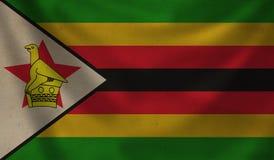 Flag of Zimbabwe. Stock Image