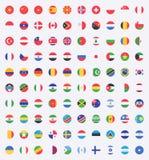Flaga świat ilustracja wektor