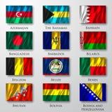 Flaga. Zdjęcie Royalty Free