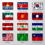 Flaga. Obraz Stock