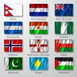 Flaga. Zdjęcie Stock