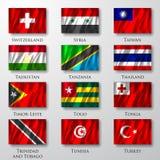 Flaga. Fotografia Royalty Free
