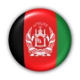 flaga afganistanie przycisk royalty ilustracja
