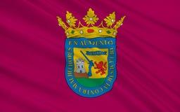 Flaga Alava lub Arab jest prowincją Hiszpania ilustracji