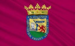 Flaga Alava lub Arab jest prowincją Hiszpania ilustracja wektor