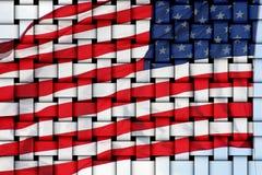 flaga amerykańska obrazy stock