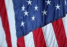 flaga amerykańska częściowa Obrazy Royalty Free