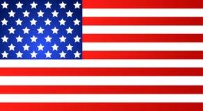 Flaga Amerykańska dla Dzień Niepodległości Wektorowa EPS ilustracja royalty ilustracja