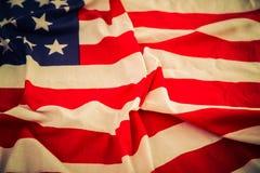 Flaga amerykańska (Filtrujący wizerunek przetwarzający) zdjęcia royalty free