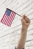 Flaga Amerykańska patriotyzm zdjęcie stock