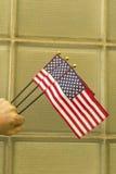 Flaga Amerykańska patriotyzm zdjęcie royalty free