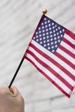 Flaga Amerykańska patriotyzm fotografia stock