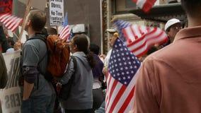 flaga amerykańskich target1202_1_ zdjęcie wideo