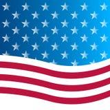 Flaga amerykańskiej tło. Obrazy Stock