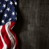 Flaga amerykańskiej tło zdjęcie stock