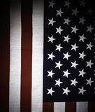Flaga amerykańskiej tekstury tło Obrazy Royalty Free