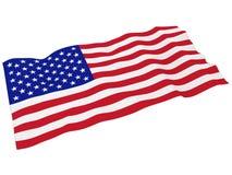 flaga amerykańska Obrazy Royalty Free