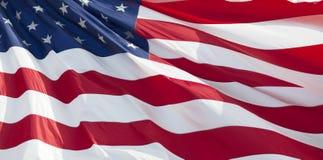 flaga amerykańska Fotografia Stock