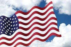 flaga amerykańska Obraz Stock
