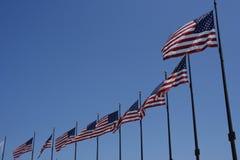 flaga amerykańskie Obrazy Stock