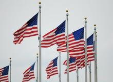Flaga Amerykańskie obrazy royalty free