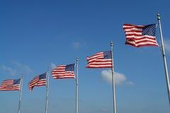 flaga amerykańskie Obraz Royalty Free