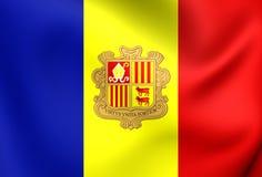Flaga Andorra Obrazy Royalty Free
