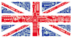 Flaga Anglia Obrazy Stock