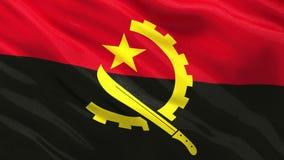 Flaga Angola - bezszwowa pętla