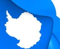 Flaga Antarctica Zdjęcie Royalty Free