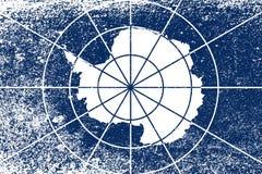 Flaga Antarctica Grunge Fotografia Royalty Free
