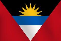 Flaga Antigua i Barbuda - Wektorowa ilustracja Royalty Ilustracja