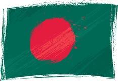 flaga bangladesh crunch Zdjęcia Stock