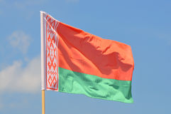 Flaga Białoruś Obraz Stock