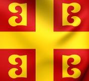 Flaga Bizantyjski imperium ilustracja wektor