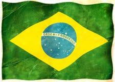 Flaga Brazylia Obrazy Royalty Free