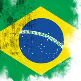 flaga brazylijskie Fotografia Stock