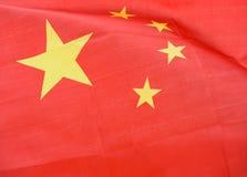 Flaga Chiny Fotografia Stock