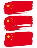 Flaga Chiny Zdjęcie Stock