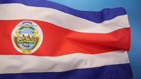 Flaga Costa Rica ilustracja wektor