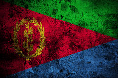 flaga eritrea crunch Obrazy Royalty Free